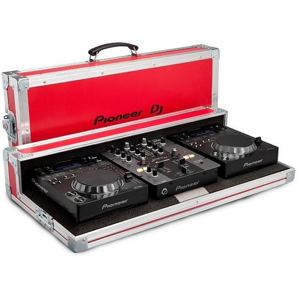 Pioneer FLIGHT CASE PIONEER PRO-350-FLT-R RED